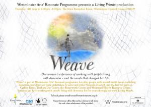 Weave June flyer